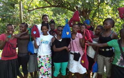 Yimba Uganda Launches Sanitation Packs